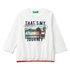 Benetton pulover DR 3VR5C14TW D bela 82