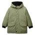 Benetton jakna plašč 2AO253JS0 F zelena t EL