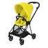 Cybex voziček 1v1 Mios - matt black mustard yellow