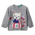 Benetton pulover DR 1070Q1951 D siva 82