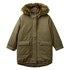 Benetton jakna plašč 2AD053JP0 D zelena t L