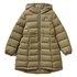 Benetton jakna plašč 2WU053IR0 D zelena t XS