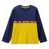 Benetton majica DR 3096C14Q8 F modra t EL