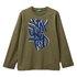 Benetton majica DR 3096C14QH F zelena t EL