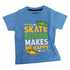 Lucky Kiddo majica KR 013285 LK-KBT 1_21 F modra s 110