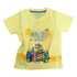 Lucky Kiddo majica KR 013309 LK-KBT 1_21 F rumena 92