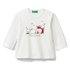 Benetton majica DR 3VR5C14TZ D bela 82