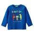 Benetton majica DR 3I9WC14QQ F modra 82
