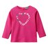 Benetton majica DR 3I9WC14S3 D pink 82