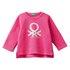 Benetton majica DR 3J70C14QY D pink 82