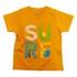 Lucky Kiddo majica KR 013327 LK-KBT 1_21 F oranžna 92
