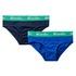 Benetton spodnje hlače slip 2 kos 3MC10S484 F modra 90