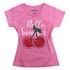 Lucky Kiddo majica KR 013419 LK- KGT 1_21 D pink 104