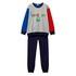 Benetton pižama DR 3I8X0P299 F modra t XS